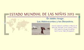 El estado mundial de las Niñas 2013