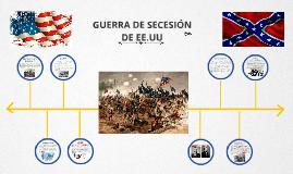 Copy of Linea de tiempo de la guerra de secesion de EEUU
