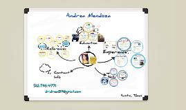 White Board Prezumé by Andrea Mendoza