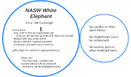 NASW White Elephant