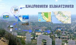 Kalifonien/Nevada Klimatzoner
