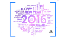 Mijn Nieuwjaarswensen 2016