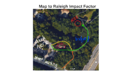 Map to Raleigh Impact Factor