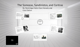 The Somozas, Contras, and Sandinista