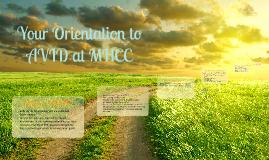 AVID Orientation