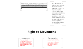 Right to Movement