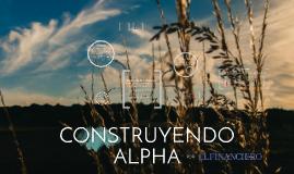 Construyendo Alpha