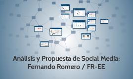 Copy of Análisis y Propuesta de Social Media: