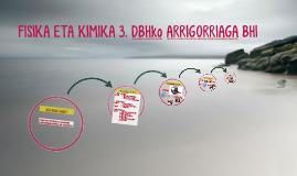 FISIKA ETA KIMIKA 3. DBH