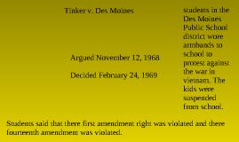 tinker v des moines summary