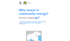 Why invest in community energy