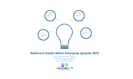 Dominant trends within Enterprise Systems 2013