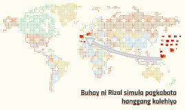 Buhay ni Rizal Simula Pagkabata hanggang Kolehiyo