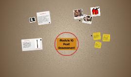 Module 10 Post Assesment