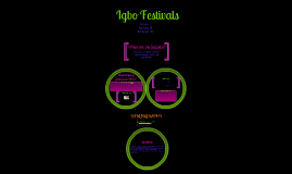 Igbo Festivals