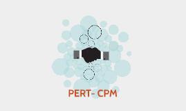 PERT- CPM