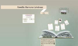 Familia Barrera Cárdenas