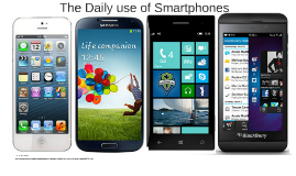 Daily use of Smartphones