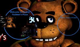 Welcome to Freddy Fazbear's Pizza
