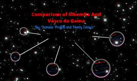 Comparison of Mbemba and Vasco de Gama