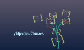 Copy of Adjective Clauses