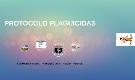 PROTOCOLO PLAGUICIDAS