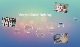 Welcome to Fashion & Advanced Fashion Marketing!