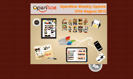 OpenRice Weekly Update 27th August 2013