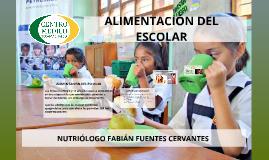 Centro Médico de Tecamachalco - Alimentación del escolar