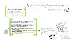 Outils et programmes d'engagement des coopératives en développement durable au Québec