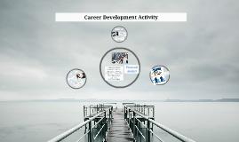 Career Development Activity