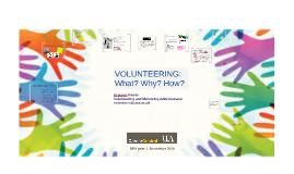 Benefits of volunteering for DEV