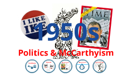 Politics & McCarthyism in the 1950s