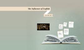 English influence on the World