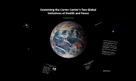 Credential Analysis of the Carter Center