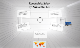 Renewable: Solar