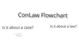 Interactive Flowchart for ConLaw