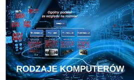 Rodzaje komputerów