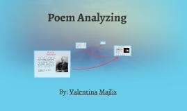 Poem Analyzing