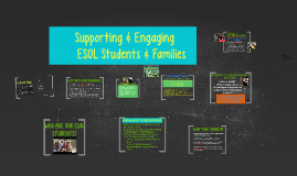 Supporting & Engaging ESOL Students