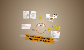 Copy of Normas Internacionales de Marcado y Rotulado