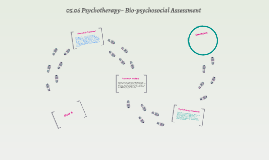 05.06 Psychotherapy~ Bio-psychosocial Assessment