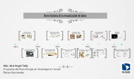 Breve historia de la visualización de datos
