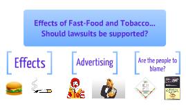 lawsuits against big tobacco justified or