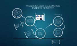 Copy of MARCO JURÍDICO DEL COMERCIO EXTERIOR DE MÉXICO