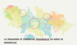 La formacion de conductas prosociales