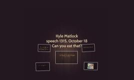 Kyle Matlock