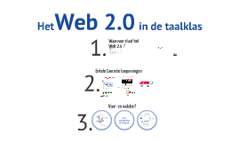 Het Web 2.0 in de taalklas (november 2011)