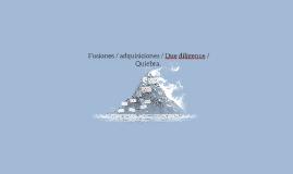 Fusiones / adquisiciones / Due diligence / Quiebra.