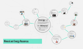 Mineral and Energy Resoures